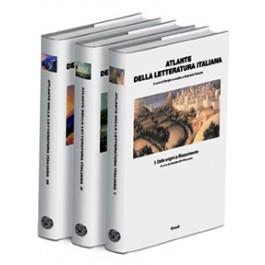 Sergio Luzzatto, Gabriele Padullà - ATLANTE DELLA LETTERATURA ITALIANA - cofanetto 3 volumi