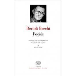 Bertolt Brecht - POESIE, Vol.1 1913-33
