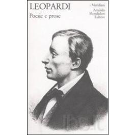 Giacomo Leopardi - POESIE E PROSE Vol.2