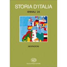 AA.VV. - STORIA D'ITALIA. ANNALI 24. Migrazioni